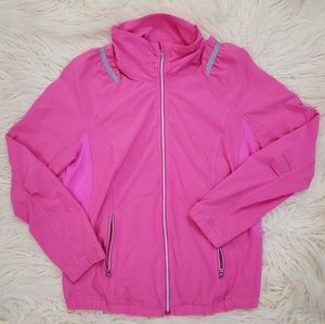Lululemon Run: Nada Jacket Pow Pink sz. 4